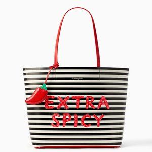 🎁Kate Spade Chili Pepper  Len Extra Spicy Tote